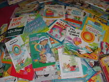 Lot of 20 Childrens Reading Bedtime-Story Time Kids BOOKS RANDOM MIX UNSORTED