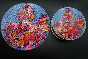"Vintage 1968 Springbok Mini LOVE Thingies Puzzle by Sandy Miller 7"" Complete"