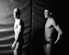TOM DALEY AND PETER WATERFIELD UNSIGNED PHOTO - 277 - OLYMPIC DIVING PAIR
