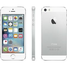 Apple iPhone 5S 32GB Silver AT&T Unlocked Good Condition