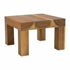 More details for t&g wooden table riser 250mm acacia wood