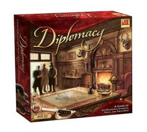 Avalon Hill Diplomacy Board Game, Strategy Game NEW - FREE POST