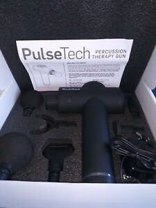 NordicTrack®  PulseTech Percussion Therapy Massage Gun with 6 Massage Heads