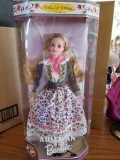 Dolls Of The World 1998 Austrian Barbie Nib Limited Edition Mint Gorgeous Doll!