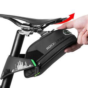 Sukutu Fahrrad-Satteltasche MTB Rennrad Aufbewahrungstasche f/ür Mountainbike