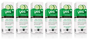 Yes To Cucumbers Soothing Sensitive Skin Daily Calming Moisturizer 1.7 oz (6 Pk)