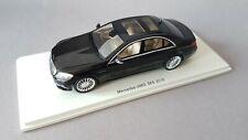Spark model 1:43 Mercedes S-Klasse S65 AMG W222 2016 Black  rare