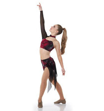 Adult L Contemporary Shorts Dress Dance Costume Lyrical Bleeding Love