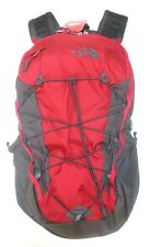 THE NORTH FACE BOREALIS BACKPACK- DAYBACK- MODEL A3KV3- RAGE RED / ASPHALT GREY
