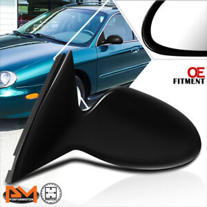 For 96-99 Ford Taurus/Mercury Sable OE Style Powered Side Rear View Mirror Left