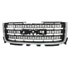 NEW 2011 2014 FRONT GRILLE FOR GMC SIERRA 2500 HD 3500 HD GM1200633  20966059