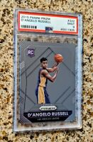 Deangelo Russell 2015 Panini Prizm Rookie Card PSA 9 - Los Angeles Lakers