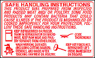 Universal Safe Handling Instruction Labels