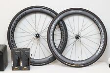 Bontrager Aeolus 5 Pro Disc TLR Carbon Fiber Road wheel set WITH TIRES