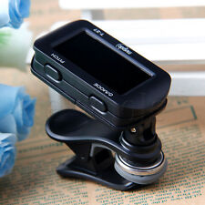LCD Clip-on T-27 Clip Style Auto Chromatic Guitar Bass Violin Ukulele Tuner WT