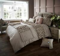 Luxurious Modern Designer Fancy Verina Silk Bedding Duvet Set With Pillow Case