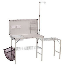 Coleman Portable Deluxe Pack Away Camp Kitchen W Food Prep Area 2000020275