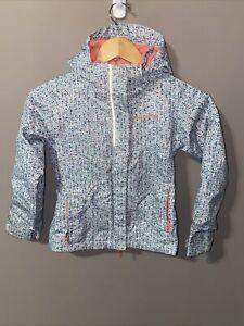 Columbia Girls Ski Winter Jacket Pink Purple Gray size XS