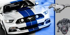FORD MUSTANG Shelby Cobra MUSCLE CAR Garage Shop Vinyl Banner Sign  2 x 4'