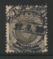 Sweden - 1910-19 - ( Arms ) - As scan