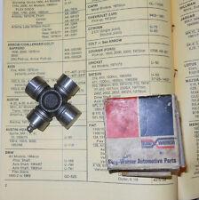 NOS Borg Warner U-Joint U166. 1964-1968 BMW w/ Prop shaft --->