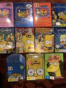 The Simpsons 11 Seasons : Season 3, 4, 5, 7, 8, 9, 10, 11, 15 DVD R4 PG