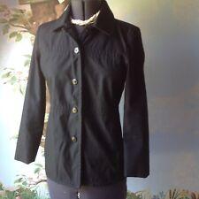 Gap Women's  Long Sleeve Black Jacket Dress Coat Size 8