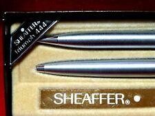 Vintage Sheaffer White Dot Pen And Pencil Set Triumph 444 New In Box W Warranty