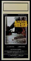 Plakat C'Era Ein Volta IN Amerika Sergio Leone Robert De Niro James Wood N44