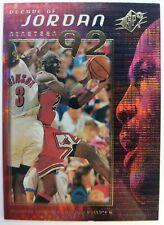Michael Jordan 1999-00 UPPER DECK SPX DECADE OF JORDAN #J3 HOLOFOIL PRISM INSERT