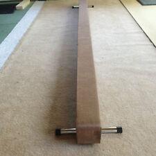 finest quality gymnastics gym balance beam tan colour 10FT long reduced bargain