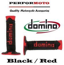 Domino Completo Diamante Apretones Negro/Rojo Honda CRF50