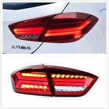 For Chevrolet Cruze Sedan Red LED Rear Light LED Taillight Lamps 2016-2018 DN
