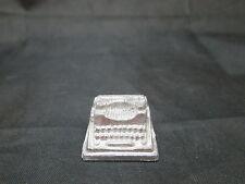Dollhouse Miniature Unfinished metal Typewriter #2