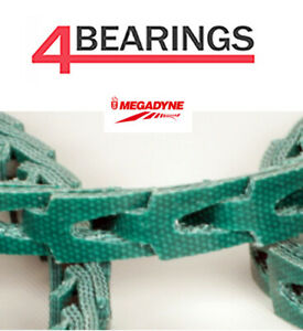 Megadyne Premium Quality Link Belting A/4L 13mm Ideal for Lathes, Marine & More