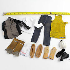 LE-24 1/6 HOT ZCWO Male Work Full Suit Set Mens Hommes TOYS