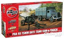 Airfix - Opel Blitz & PAK 40 Anti-Tank Gun 75mm Modell-Bausatz 1:76/72 Truck LKW