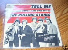 ROLLING STONES Tell me Picture Sleeve 45