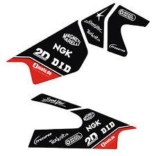 Schwinge Aufkleber Dekor für Yamaha 2006 - 2014 R6 Rj11- Rj15 Aufkleber Rot