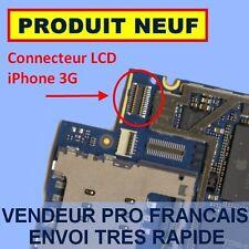 PRISE CONNECTEUR NAPPE ECRAN LCD SUR CARTE MERE IPHONE 3G ✖ NEUF ENVOI 24H MAXI