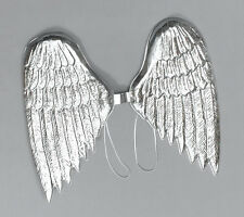 #LARGE ANGEL WINGS WITH SCULPTED FEATHERS THEATRE PLAY FANCY DRESS PARTY PROP