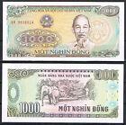 VIETNAM BILLETE 1000 DONG 1988 Pick#106a S/C UNC