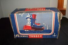 Vintage 1940s Renwal Tugsy Tuggy Toy Tugboat # 128 Box Rare