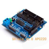 Neu Sensor Shield V5 für Arduino  APC220 Bluetooth Analog Module Servo Motor