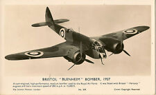 "AVIATION : Bristol ""Blenheim"" Bomber 1937-SCIENCE MUSEUM"