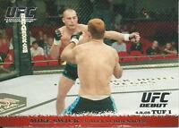 Mike Swick Vs. Alex Schoenauer 2009 Topps UFC Round 1 Card # 24 Rookie