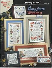 CROSS STITCH FOR THE WOMAN'S SOUL Chicken Soup ~ Stoney Creek Book 315 Verses
