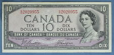 1954 - Bank of Canada - $ 10 - BC-32b  - Beattie-Coyne  - Devil's Face
