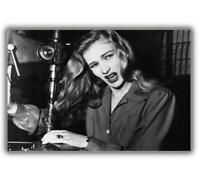 "American film actress Veronica Lake woman in war ww2 Photo Glossy ""4 x 6"" inch C"
