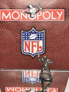 1998 MONOPOLY NFL ORIGINAL GAME PARTS PEWTER TOKEN: LOT 1/ LOOSE/ PRE OWNED
